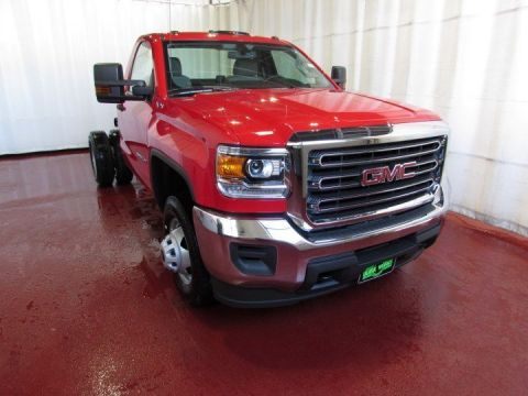 2016 Gmc Sierra 3500hd Chassis 4WD