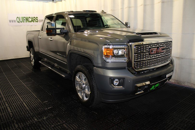 New 2018 GMC Sierra 2500HD Denali Crew Cab Pickup in ...